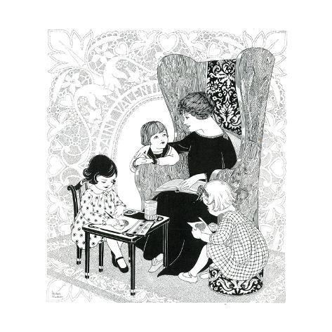 Puzzle Find St. Valentine - Child Life Giclee Print