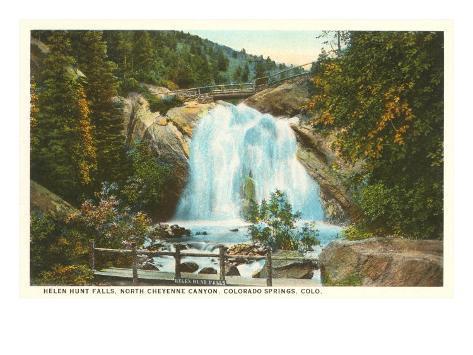 Helen Hunt Falls, Colorado Springs, Colorado Art Print