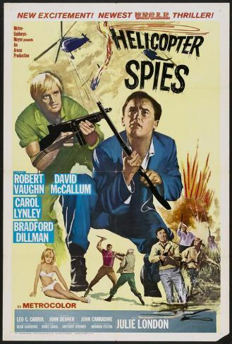 Helicopter Spies Poster
