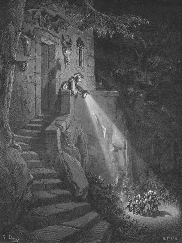 The Dwelling of the Ogre, 1870 Giclee Print