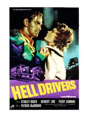Hell Drivers, Stanley Baker, Peggy Cummins, 1957 Photo