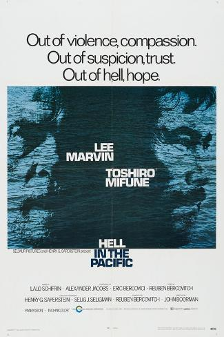 Hell In the Pacific, 1968, Directed by John Boorman Giclee Print