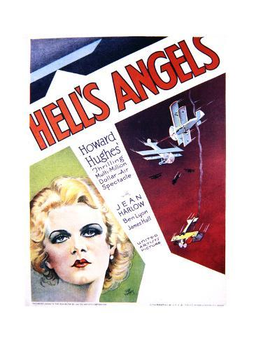 Hell's Angels - Movie Poster Reproduction Art Print