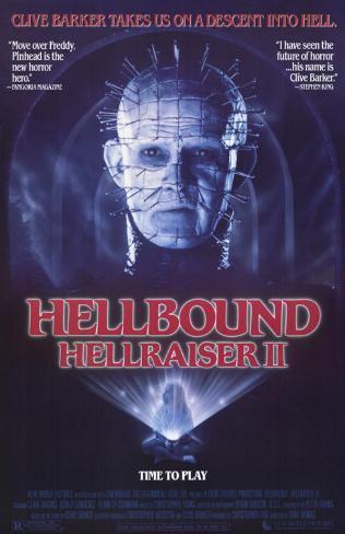 Hellbound: Hellraiser 2 Masterprint