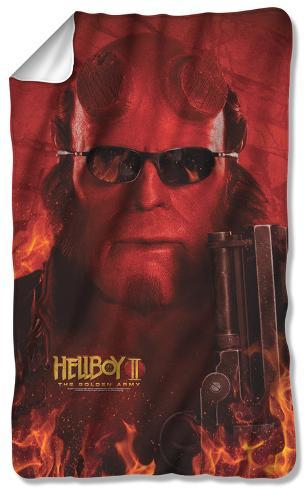 Hellboy II - Big Red Fleece Blanket Fleece Blanket