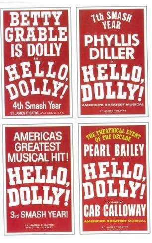 Hello Dolly Masterprint