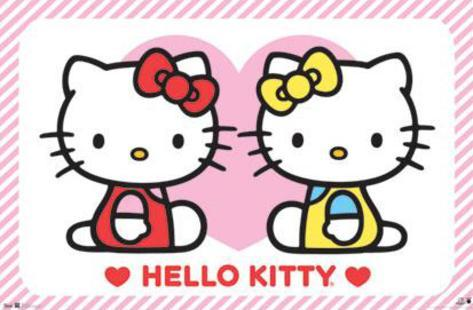 Hello Kitty - Friends Poster