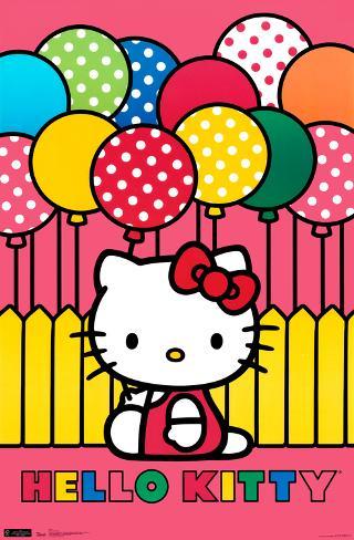 Hello Kitty - Mimmy Poster
