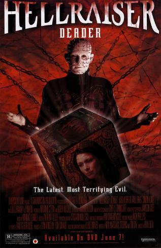 Hellraiser- Deader Original Poster