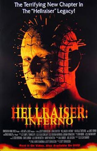 Hellraiser: Inferno Pôster original