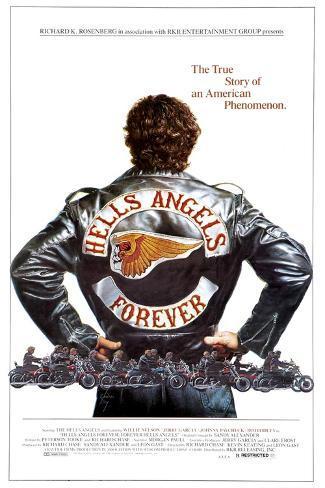 HELLS ANGELS FOREVER, poster art, 1983, ©RKR/courtesy Everett Collection Art Print