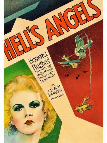 Hells Angels Art Print