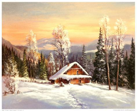 Siberian Winter Art Print