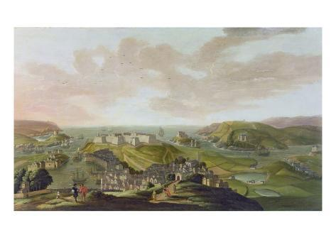 Plymouth, 1673 Stampa giclée