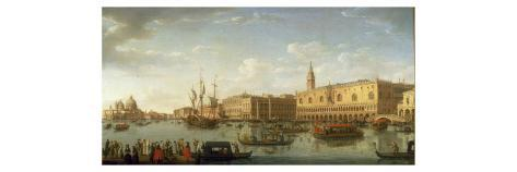 Venice: The Bacino di San Marco, with the Doge's Palace and Entrance to the Grand Canal, 1729 Giclee Print