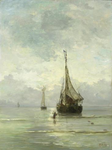 Calm Sea Premium Giclee Print