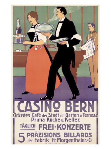 Casino Bern Giclee Print