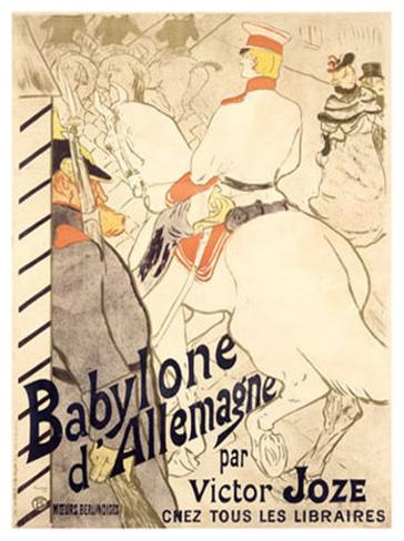 Babylone d'Allemagne Giclee Print