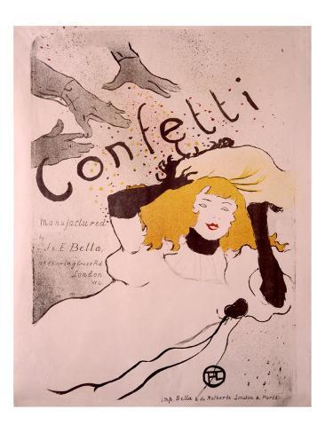 Confetti Giclee Print