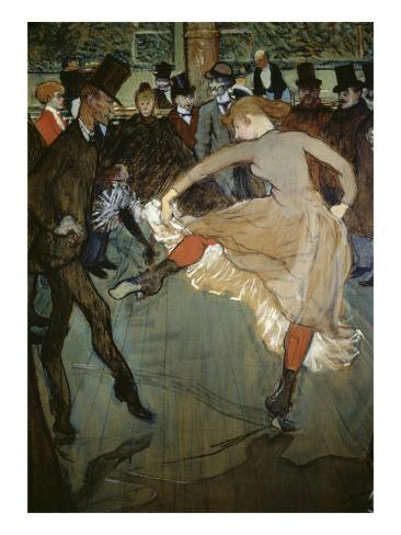 Dance at the Moulin Rouge Giclee Print