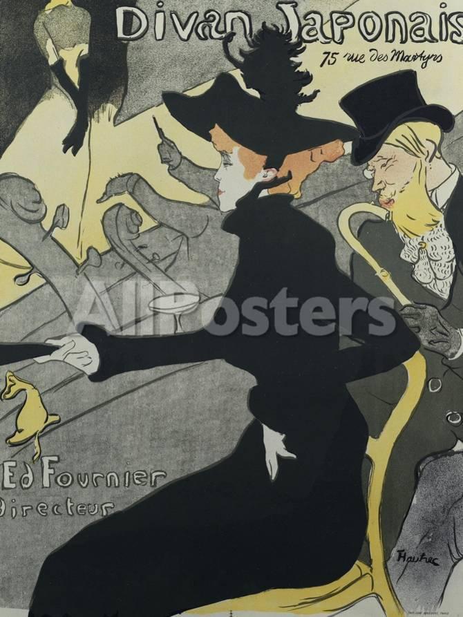 Divan Japonais, 1893 Lámina giclée por Henri de Toulouse-Lautrec en ...