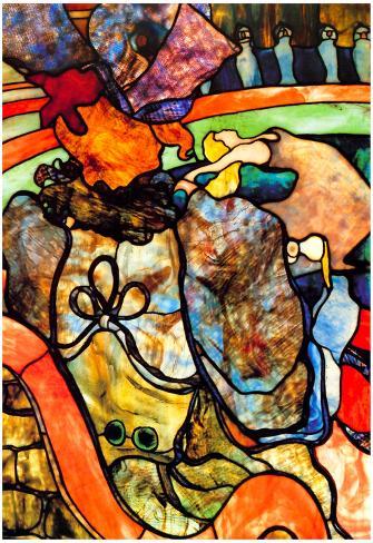 Henri de Toulouse-Lautrec In the Circus Art Print Poster Poster