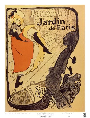 Jardin de Paris Art Print