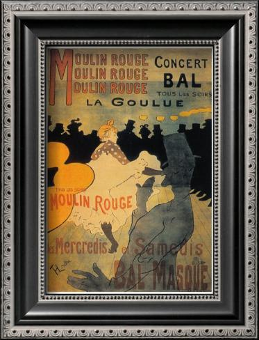 La Goulue Framed Art Print