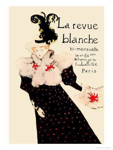 La Revue Blanche Lámina