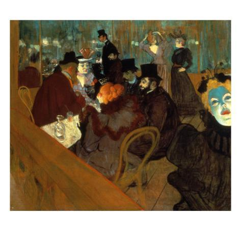 Lautrec: Moulin Rouge Giclee Print