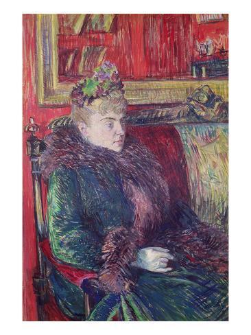 Madame De Gortzikoff, 1893 Lámina giclée