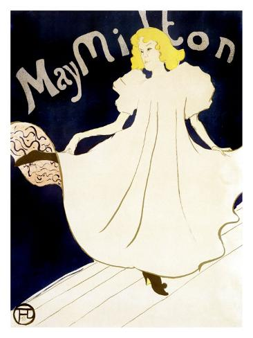 May Milton Giclee Print