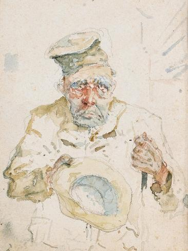 The Beggar of Albi, C.1880 Lámina giclée