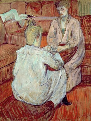 The Card Game, 1893 Lámina giclée