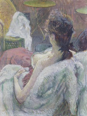 The Model Resting, 1889 Lámina giclée