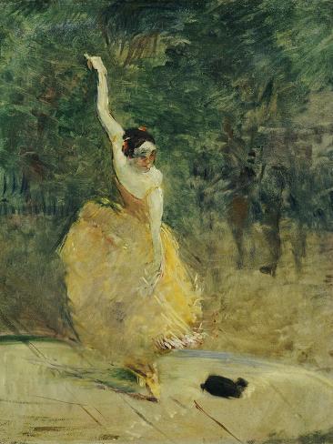 The Spanish Dancer, 1888 Giclee Print