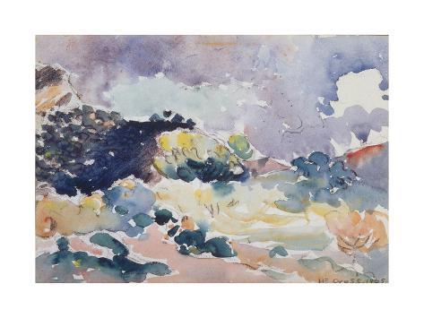 A Small Landscape, 1905 Lámina giclée