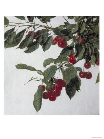 Cherries, c.1883 Lámina giclée