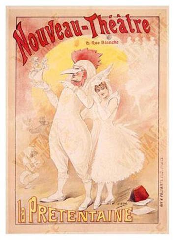 Art Nouveau Theatre Giclee Print