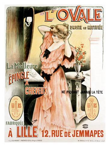L'Ovale Giclee Print