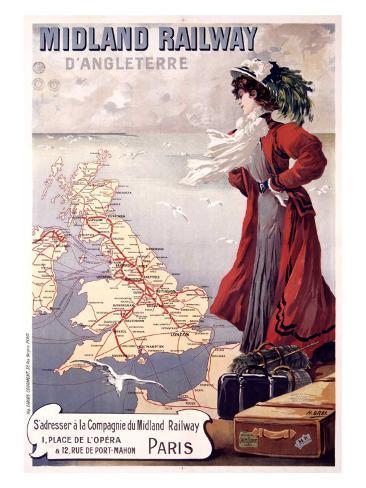 Midland Railway Giclee Print