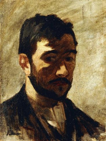 Portrait of the Artist, 1888 Lámina giclée