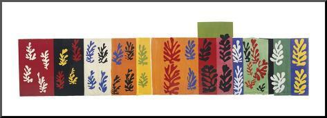 Composition (Les Velours), 1947 Kunst op hout