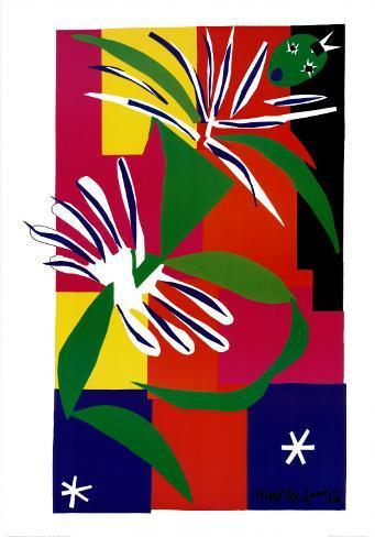Creole Dancer, c.1947 Konstprint