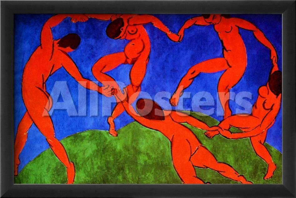 Dance, 1910 Lámina giclée enmarcada por Henri Matisse en AllPosters.es