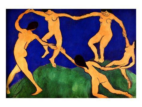 Dance I Framed Giclee Print
