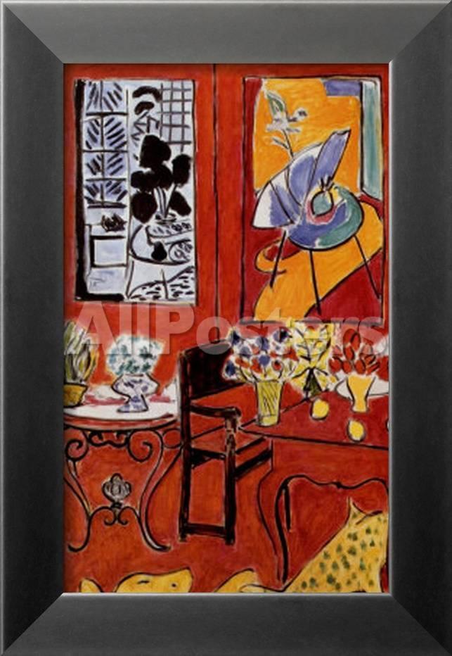 Gran interior rojo, 1948 Láminas por Henri Matisse en AllPosters.es
