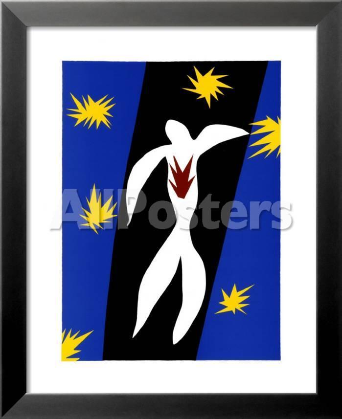 La caída de Ícaro Pósters por Henri Matisse en AllPosters.es