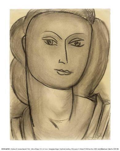 Madame Lucienne Bernard, c.1946 Kunstdruk