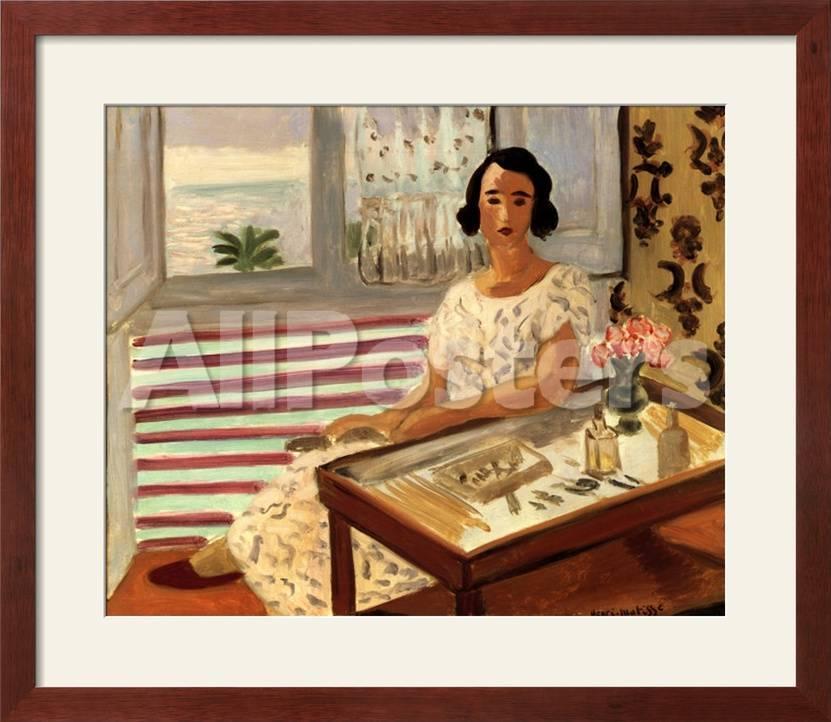 Mujer sentada en tocador Láminas por Henri Matisse en AllPosters.es